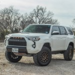 2018 Toyota 4runner Lifted With Fuel Vector Off Road Wheels And Nitto M T Tires