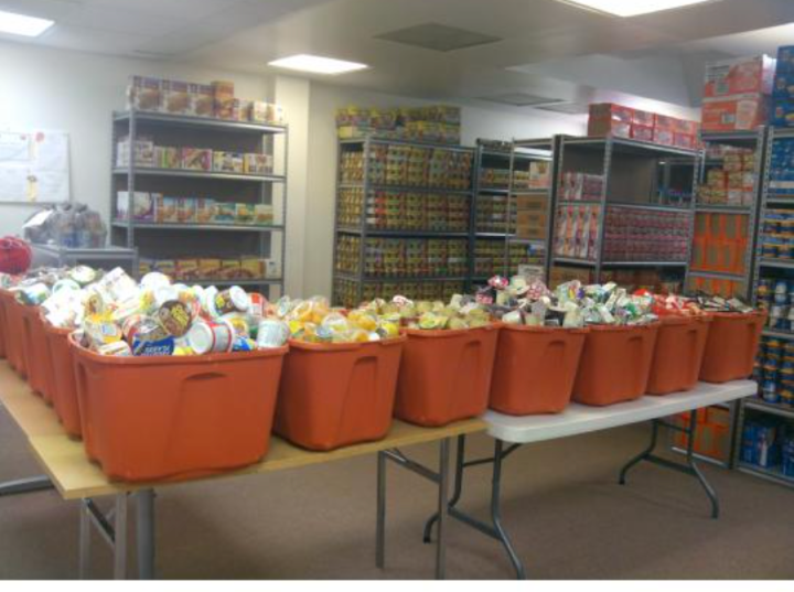"""""""women who care ministries"""" food drive"""