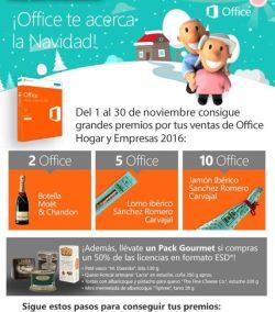 microsoft office te acerca a la navidad