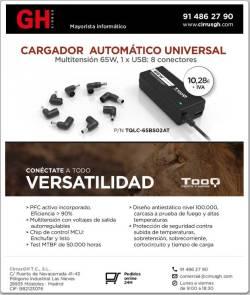 Tooq cargador universal