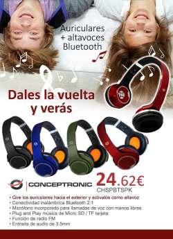 comprar altavoces conceptronic bluetooth