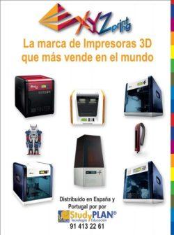 XYZprinting catalogo impresoras 3D