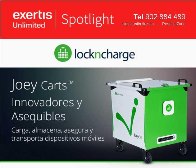 Joey Carts, los nuevos carros de carga, fáciles de usar