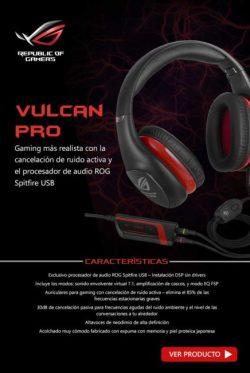comprar auriculares vulcan pro