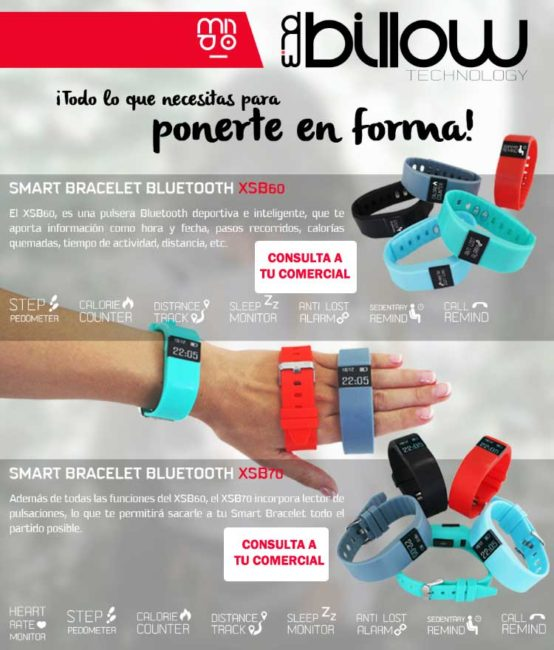 pulsera smartband