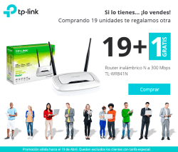 comprar WIRELESS ROUTER TP-LINK N300 TL-WR841N