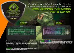 comprar teclado keep out