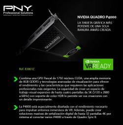 comprar nvidia quadro p4000