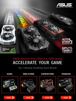 asus GeForce GTX 1050