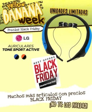 Auriculares LG Tone Sport Active en el Black Friday de Infowork
