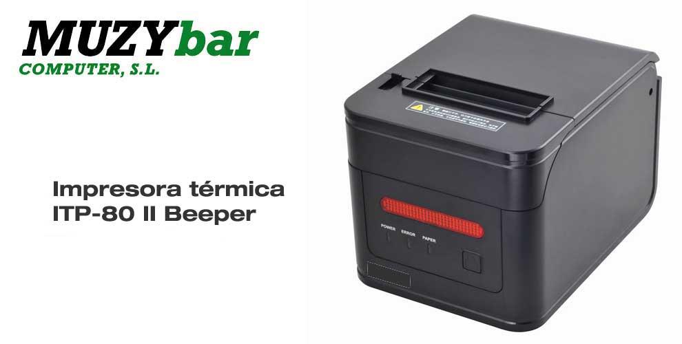 Impresora térmica ITP-80 II Beeper de alta velocidad