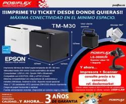 oferta posiflex epson tm30 y scanner 1D