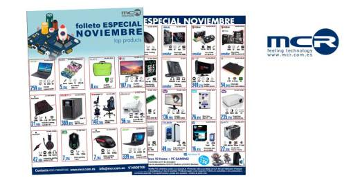 Top Products Noviembre en MCR