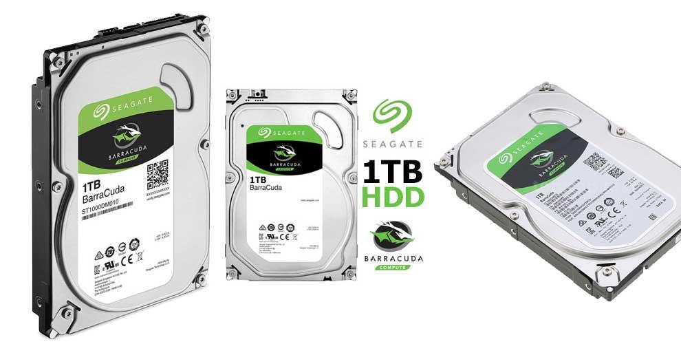 "Disco duro interno HDD seagate st1000dm010 1TB 3.5"""" SATA 6GB s 7200rpm 64mb"