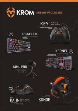 nuevos productos gaming krom