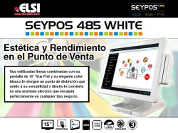 seypos 485 white precio