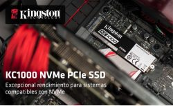 Kingston KC1000 NVMe precio