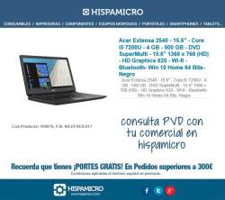 comprar Acer Extensa 2540