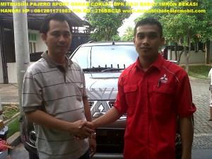 Pajero Sport DAKAR 2WD AT Bapak H. Babay Imron Bekasi