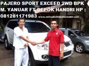 Pajero Sport EXCEED 2WD AT Pak M. Yanuar F T