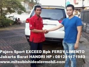 Pajero Sport EXCEED Pak FERDY LIMENTO Jakarta Barat