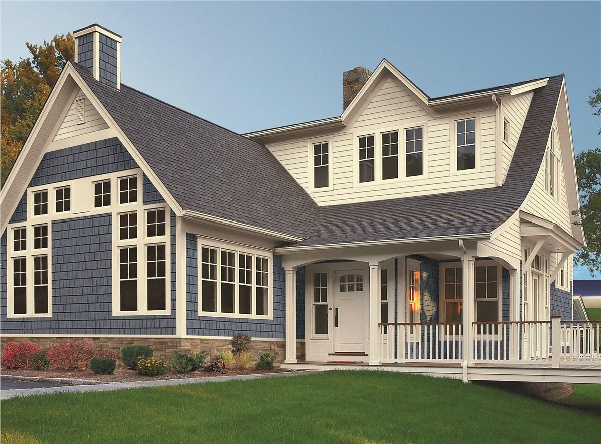 Vinyl Siding | Home Vinyl Siding | EcoView Windows on House Siding Ideas  id=49243