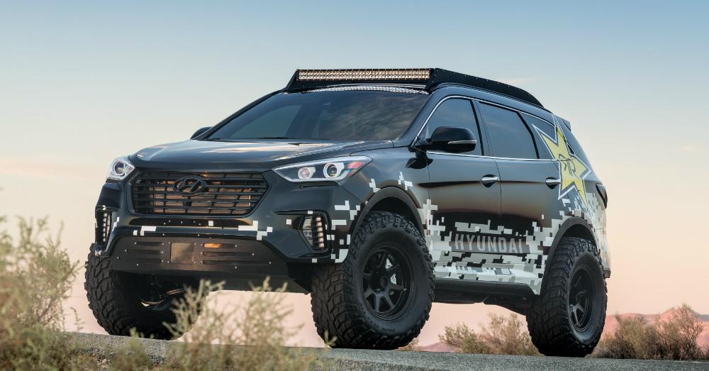 11.08.16 - Hyundai Rockstar Santa Fe