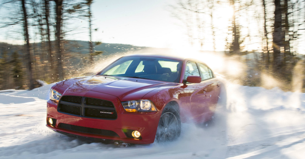 01.27.17 - Dodge Charger in the Snow