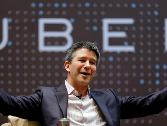 03.15.17 - Uber CEO Travis Kalanick