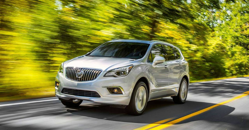 Comfortably fitting in the middle with Buick