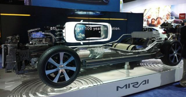 Hydrogen Fuel Mirai