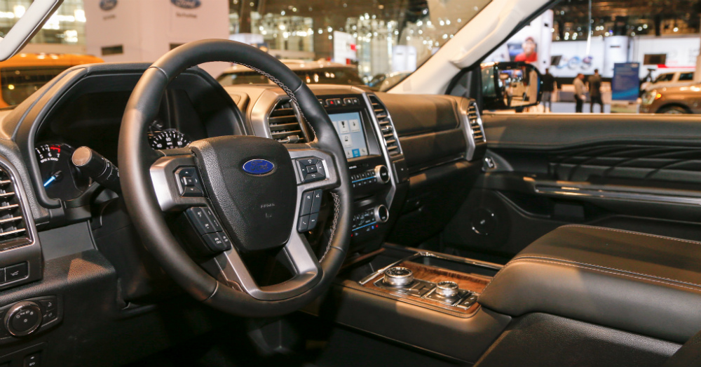 04.14.17 - Ford Expedition Interior