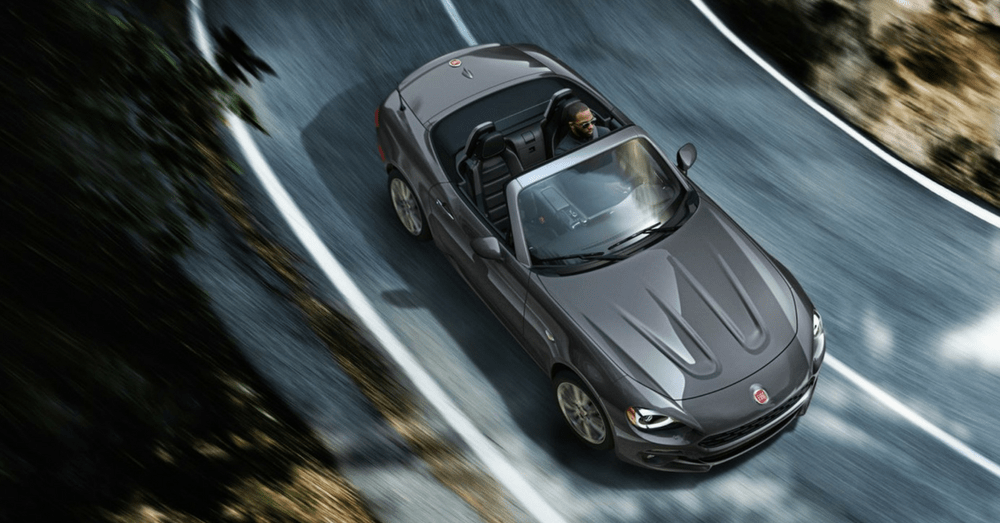 Taking a Ride in the Fiat 124 Spider