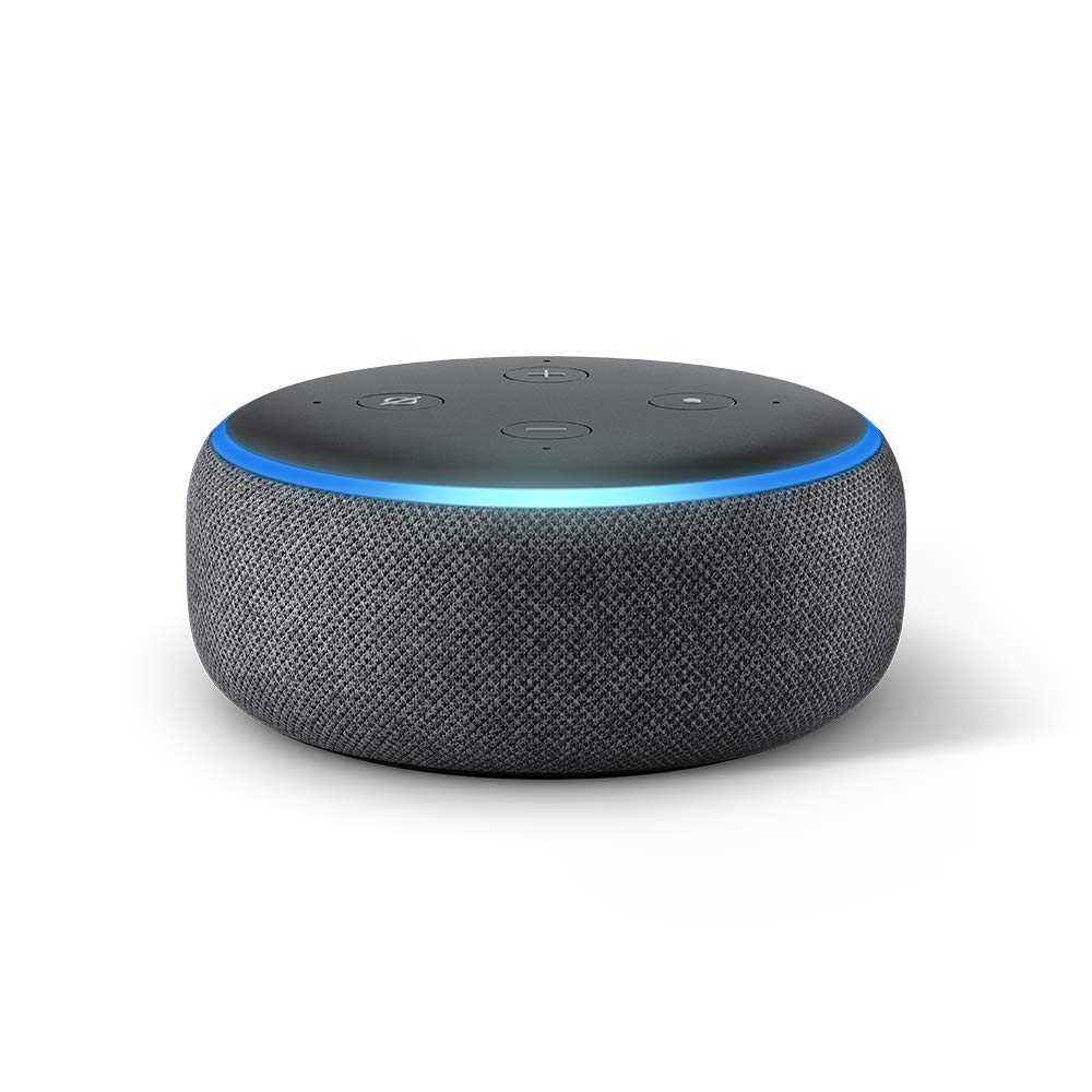 Echo Dot (3rd Gen) – Smart speaker with Alexa, now with improved sound and design – now only $39.99! (20% off)