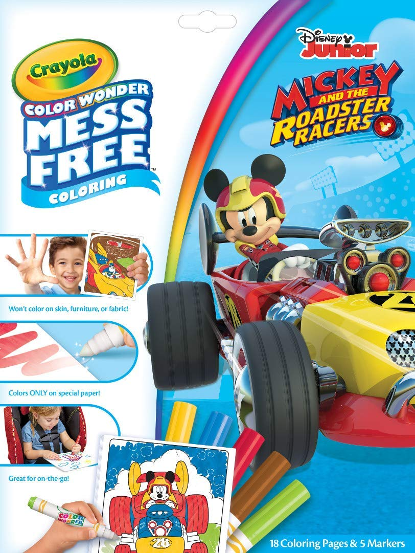 Crayola Color Wonder Mickey Coloring Book & Markers only $4! (was $8)
