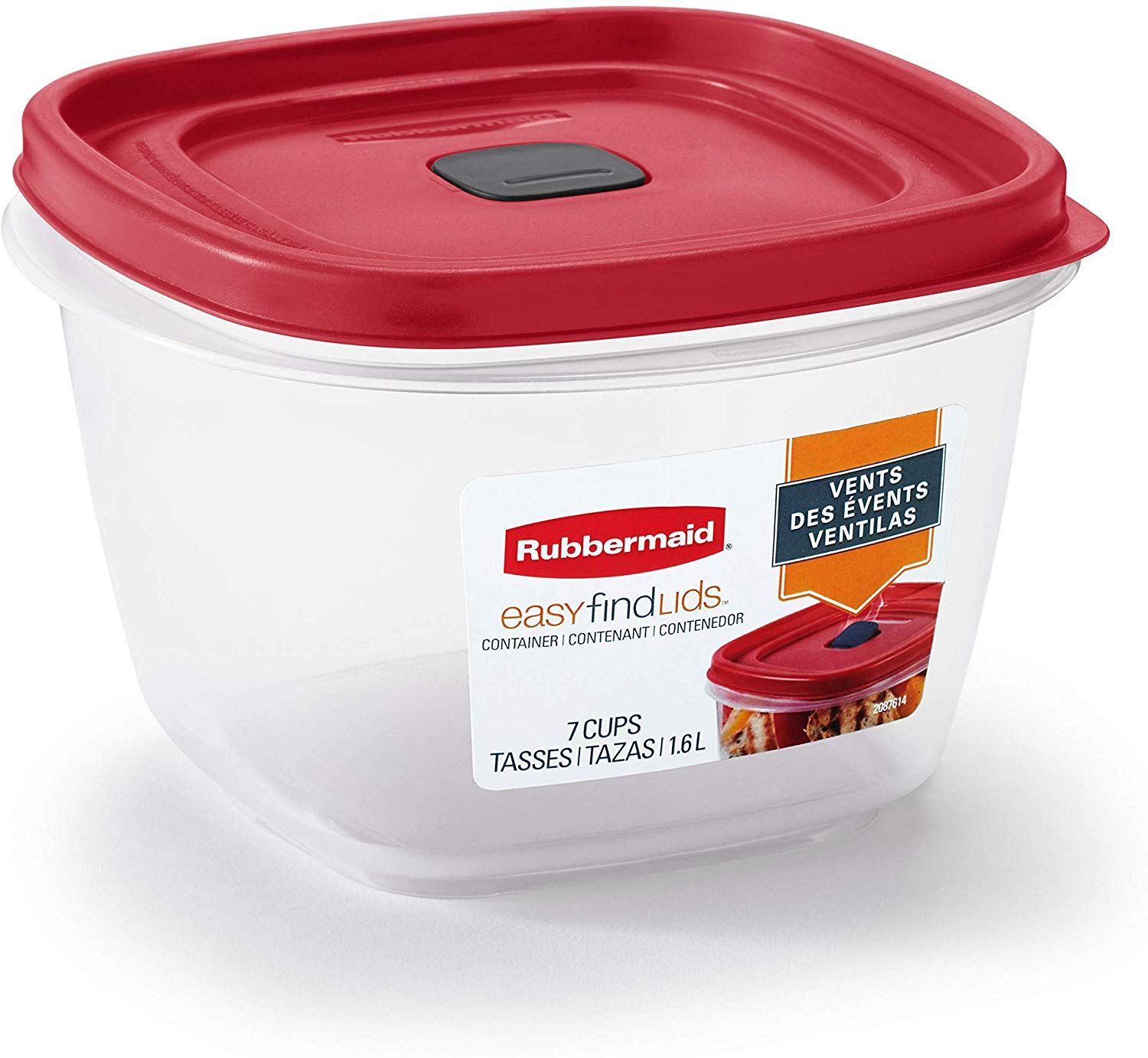 Rubbermaid Easy Find Vented Lid Food Storage Containers only $3! (was $6.99)