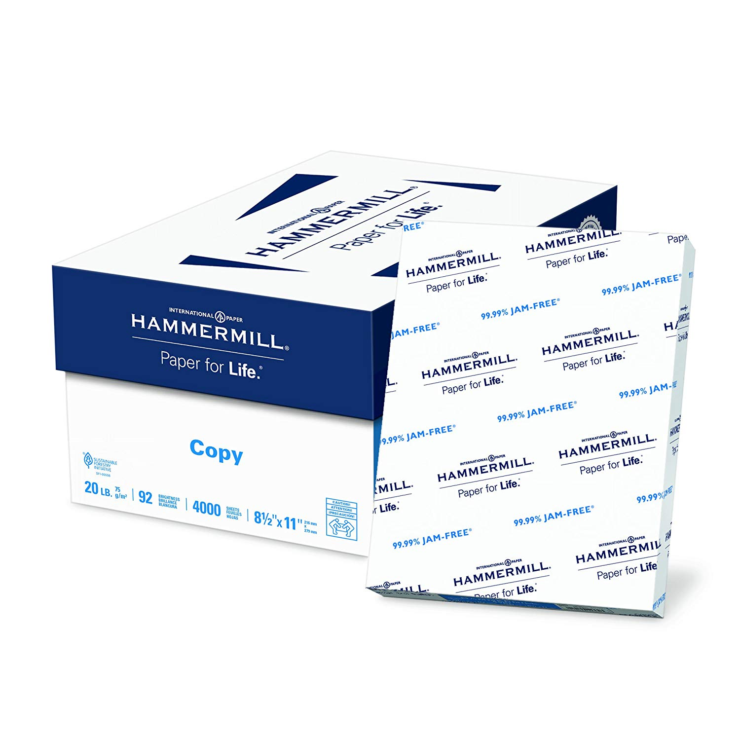 Hammermill Paper 8 Ream Case / 4,000 Sheets only $25.99! (was $36.99)