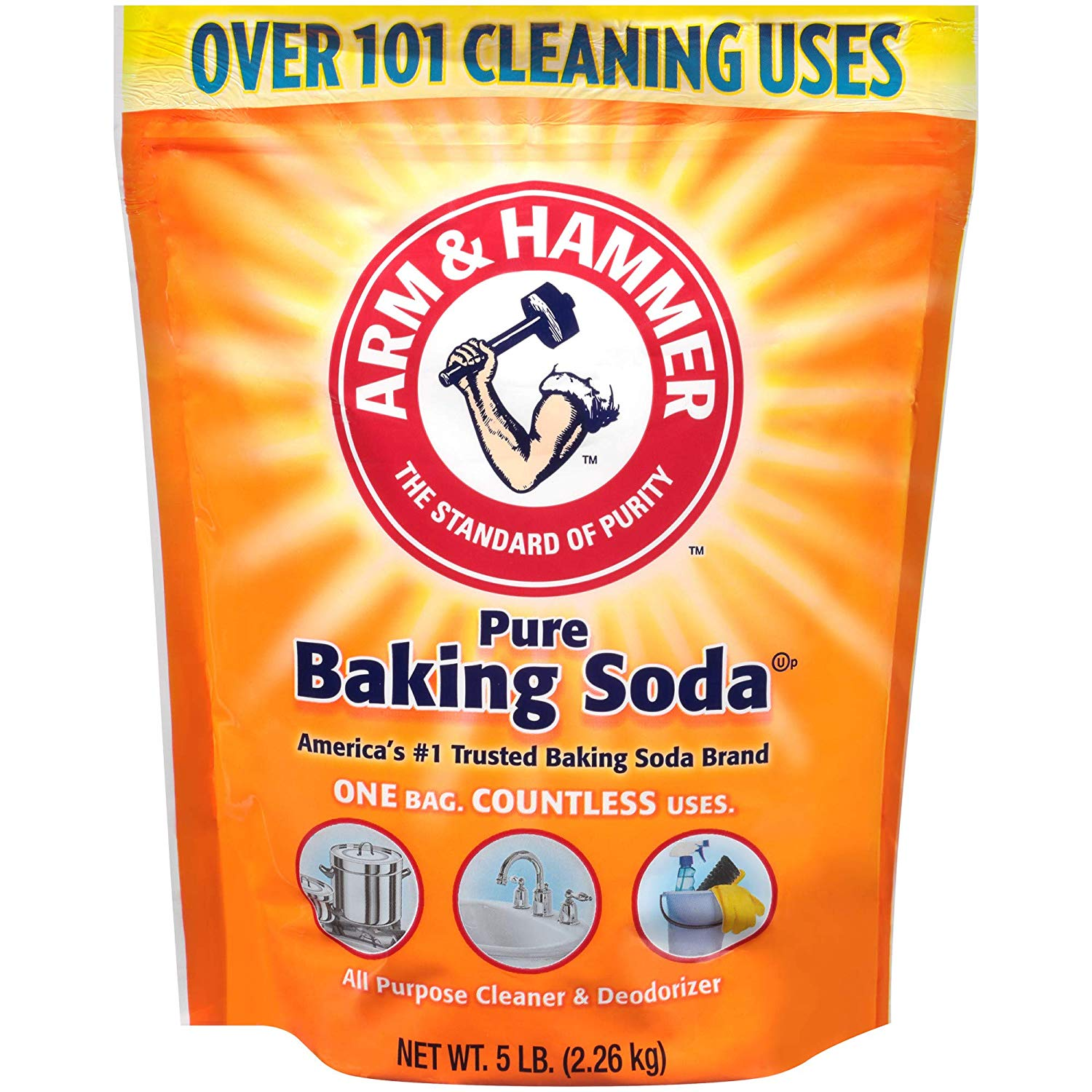 Arm & Hammer Baking Soda, 5 Lbs only $3.24! (was $6.99)