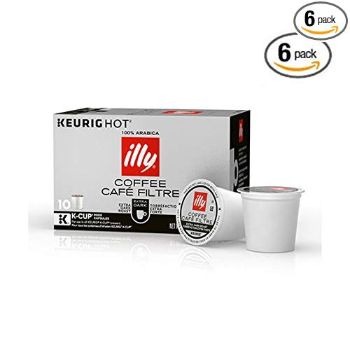illy Coffee, Extra Dark Roast 60 K Cups only 30.20! ($0.50/count)