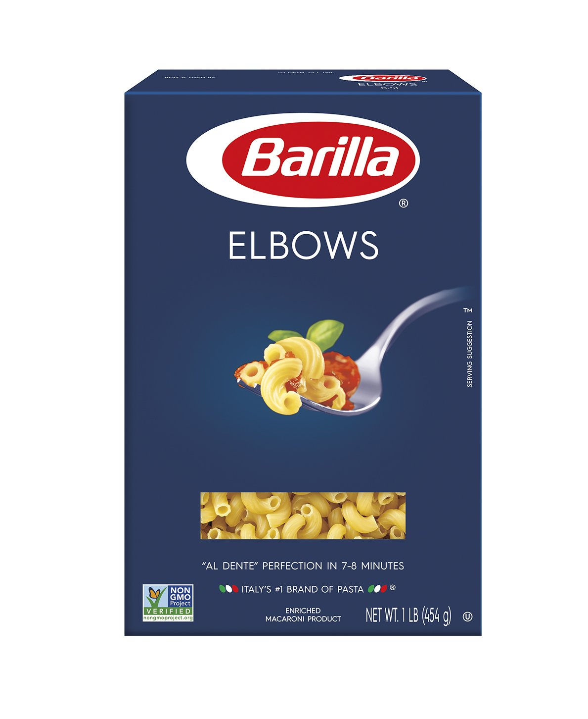 Pack of 8 Barilla Pasta, Elbows only $6.80 with coupon!