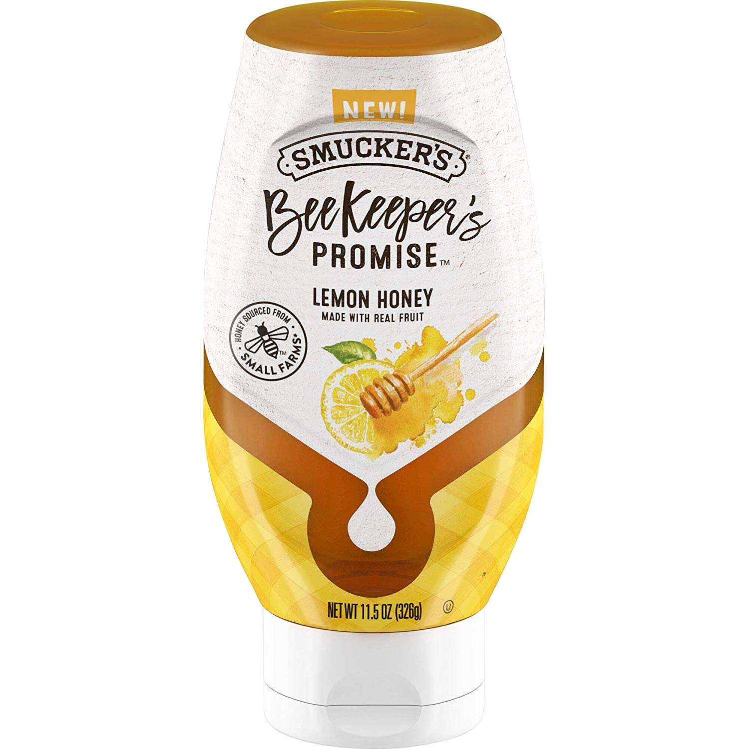 6 Pack Smucker's Beekeeper's Promise Lemon Honey only $8.12!