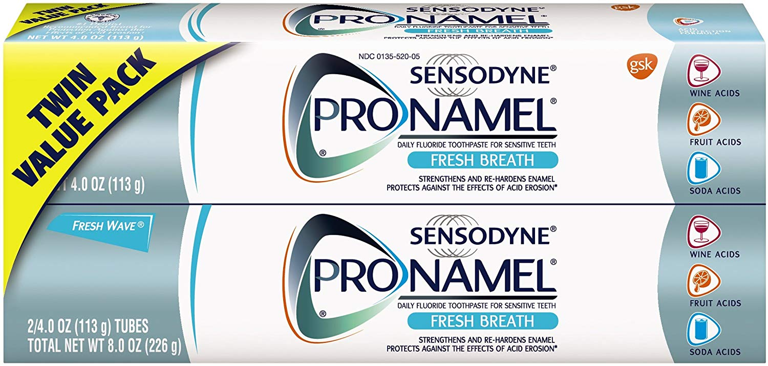 2 Pack Sensodyne Pronamel Toothpaste only $7.80 with coupon!