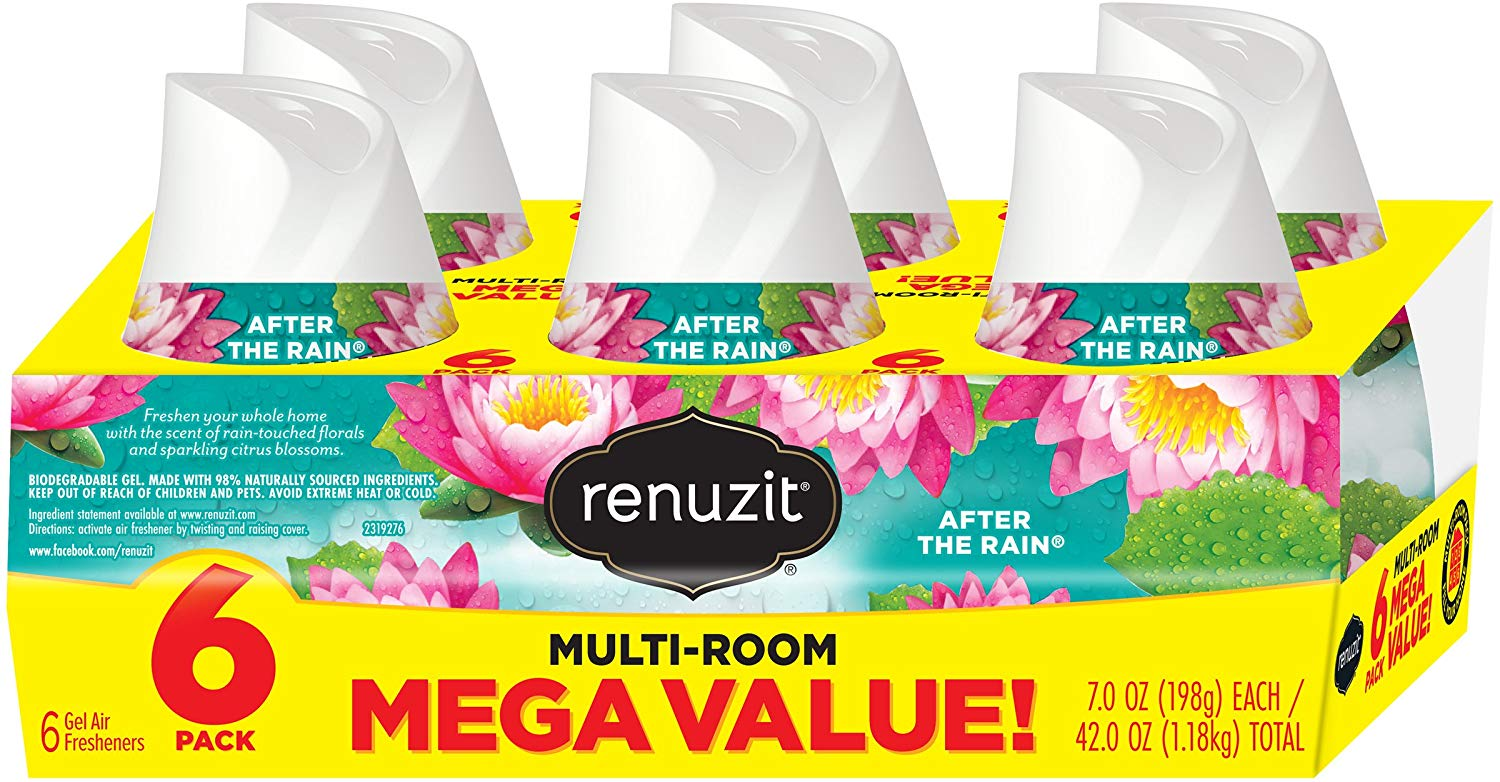 6 Renuzit Adjustable Air Fresheners only $3.72 with coupon!