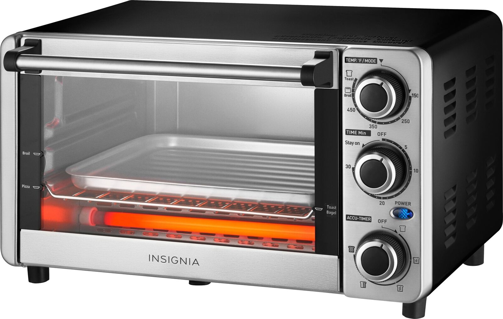 Insignia- 4-Slice Toaster Oven only $19.99 (50% off)