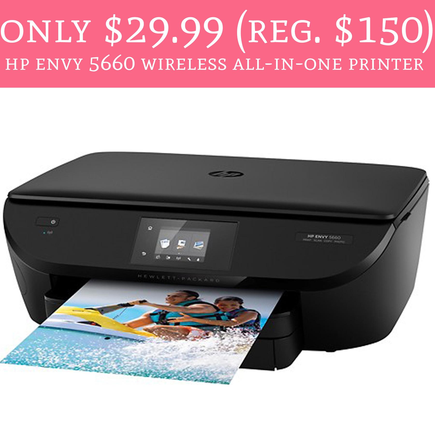 Only 29 99 Regular 150 Hp Envy 5660 Wireless All In
