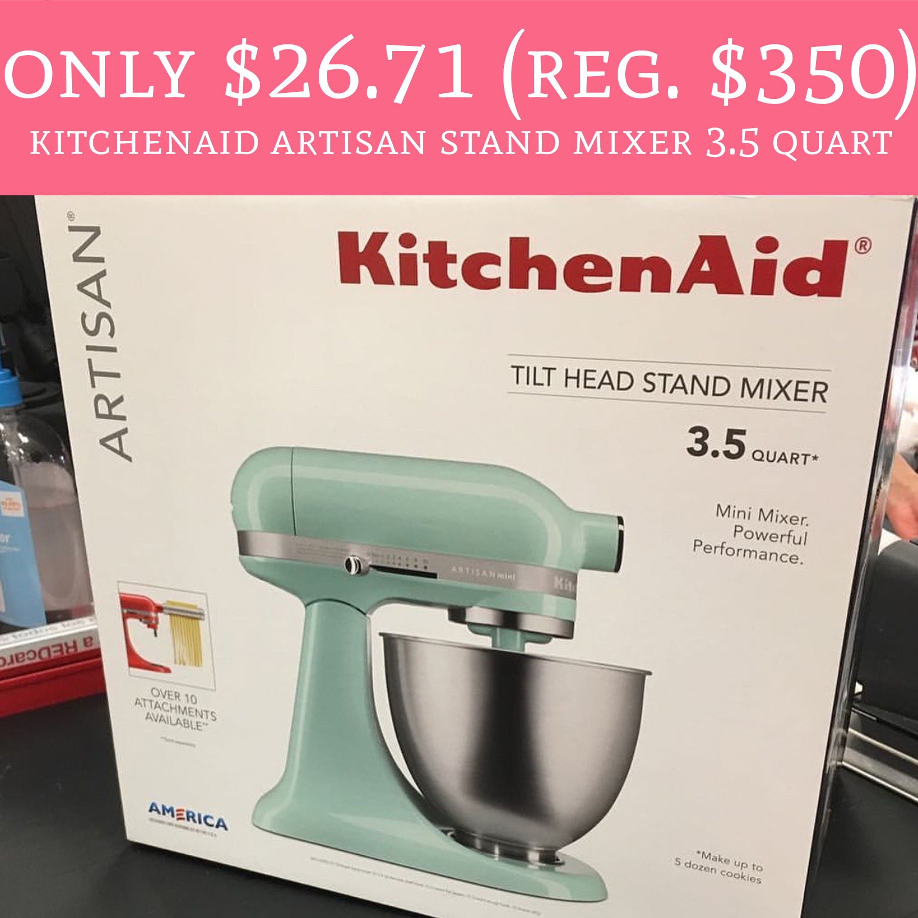 Only 2671 Regular 350 KitchenAid Artisan Stand Mixer