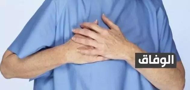 ألم في عظام القفص الصدري عند الضغط عليها