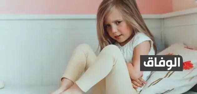 علاج وجع البطن للأطفال