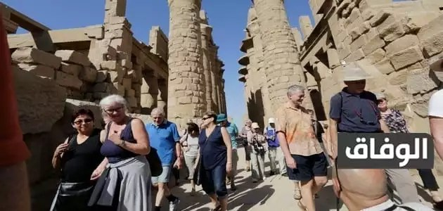 نسبة السياح التي تزور مصر