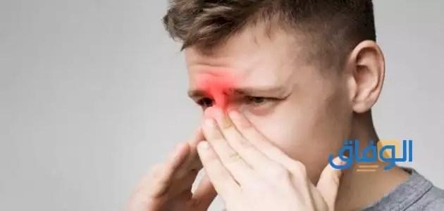 أعراض الإصابة باللحمية الأنفية